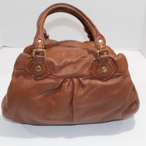 Marc by Marc Jacobs Tobacco Leather Shoulder Bag
